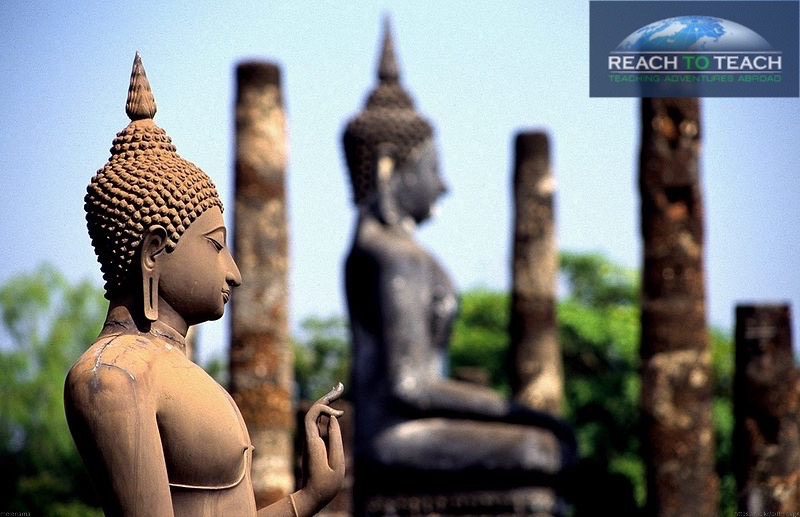 boddha statues in Thailand