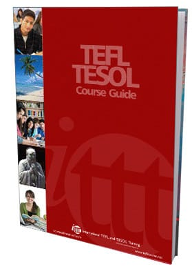 red TESOL/TEFL course guide book