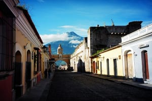 dark street of antigua